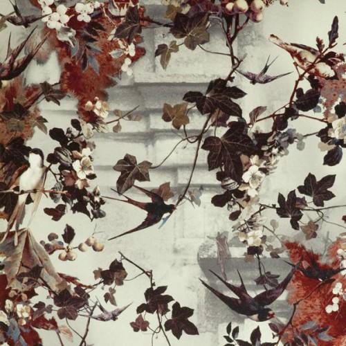 Hirondelles wallpaper - Jean Paul Gaultier