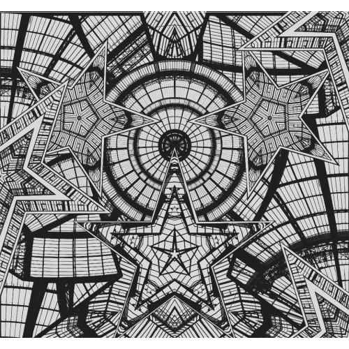 Papier peint Coupole de Jean Paul Gaultier référence 10926