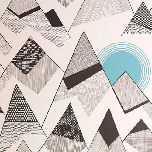 Mountains wallpaper -  MissPrint