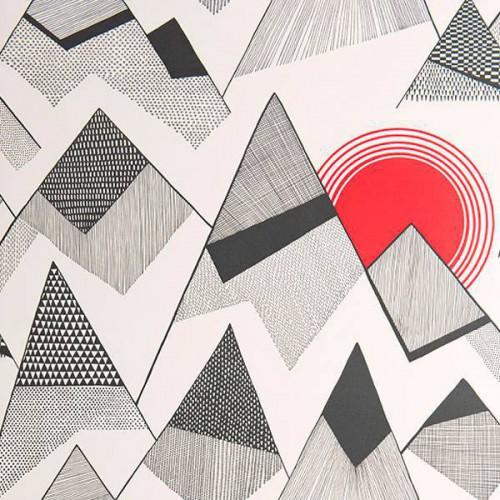 Papier peint Mountains - MissPrint