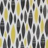 Papier peint Five Feathers de MissPrint coloris Citrine MISP1180