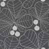 Papier peint Great Leaf de MissPrint coloris Noir MISP1199