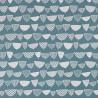 Papier peint Allsorts de MissPrint coloris Bleu pigeon MISP1162
