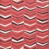 Papier peint Chevron de MissPrint coloris Rosé MISP1104