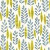 Papier peint Garden City de MissPrint coloris Blanc jaune MISP1068