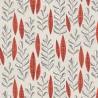 Papier peint Garden City de MissPrint coloris Mastic rouge MISP1073