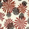 Papier peint Fleur de MissPrint coloris Blanc rouge MISP1013