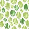 Papier peint Hoja de MissPrint coloris Vert MISP1267