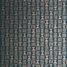 Papier peint HIeroglyph de MissPrint coloris Gris foncé/Cuivre MISP1243