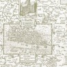 London Map wallpaper - Thibaut
