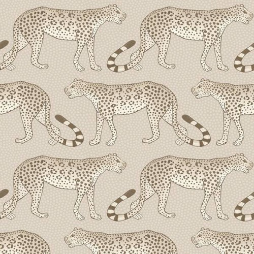 Leopard Walk wallpaper -  Cole and Son