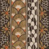 Frise Ardmore Border de Cole and Son coloris Noir-Maron 109-5026