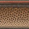 Bordure Papier peint Zulu Border de Cole and Son coloris Marron/Noir 109-13060