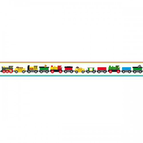 Frise Trains de Boråstapeter coloris Multicolore 6281