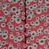 Papier peint Cotton Tree de MissPrint coloris Rouge MISP1035