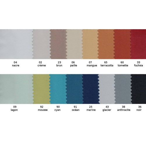 Fireproof blackout fabric OPALE in 140 cm - Sotexpro