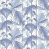 Papier peint Palm Jungle - Cole and Son - Bleu/Blanc 95-1005