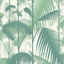 Papier peint Palm Jungle de Cole and Son coloris Forêt/Blanc 95-1002