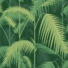 Papier peint Palm Jungle - Cole and Son - Vert forêt 112-1003