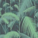 Papier peint Palm Jungle de Cole and Son coloris Vert/Noir 95-1003