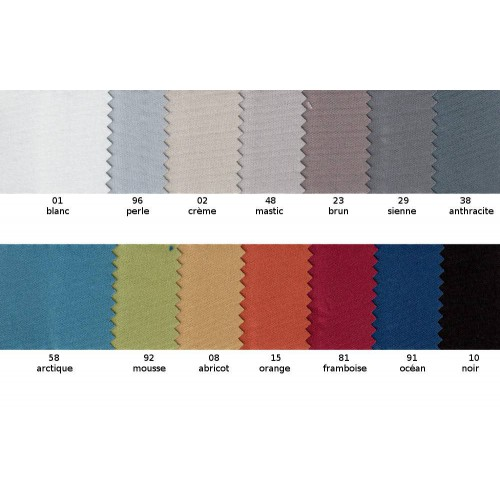 Fireproof blackout fabric NOCTURNE in 280 cm - Sotexpro