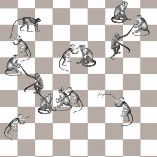 Checkmate wallpaper - Cole and Son