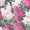 Papier peint Lilac Syringa Vulgaris de Cole and Son coloris Magenta/Blush 115-1001