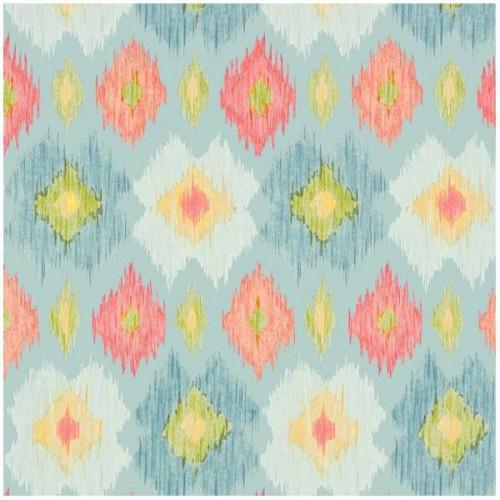 Bimini Ikat wallpaper - Thibaut