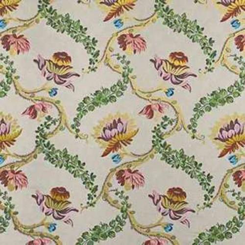 Tissu d'ameublement Carlotta de Fadini Borghi coloris Crema I6476001