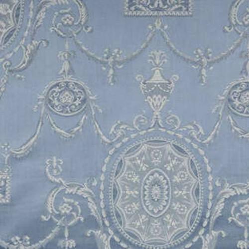 Tissu d'ameublement Bonaparte de Fadini Borghi coloris Aquamarina I6470008