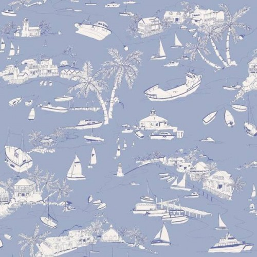 Bahamas wallpaper - Thibaut
