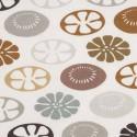 Tissu d'ameublement Flower Power de Boussac coloris City O7759001