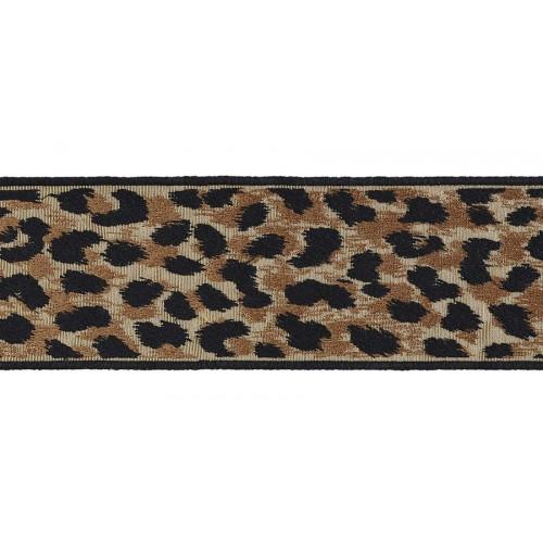 Leopard Braid 80 mm by Bambi Sloan - Houlès color leopard 32190-9800