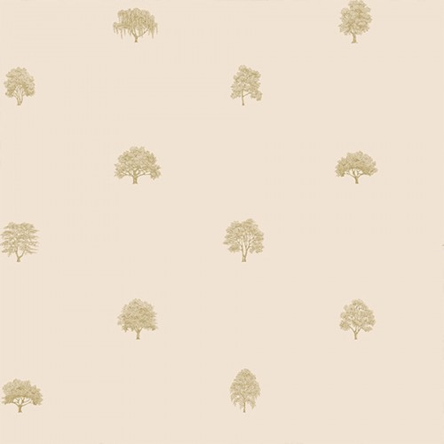 Arboretet wallpaper - Sandberg color pink 227-04