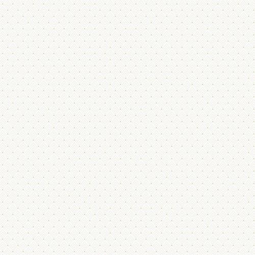 Bok wallpaper - Sandberg color white cream / golden 710-01