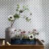 Beata wallpaper - Sandberg color black 402-81
