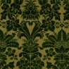 Mansart velvet fabric - Tassinari & Chatel color green 1681-01