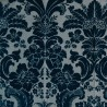 Mansart velvet fabric - Tassinari & Chatel color blue 1681-03