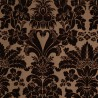 Mansart velvet fabric - Tassinari & Chatel color dark blond 1681-06