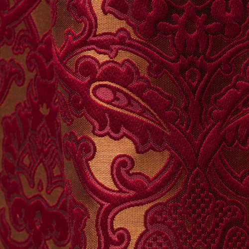 Leonardo fabric - Tassinari & Chatel color rubis 1691-05