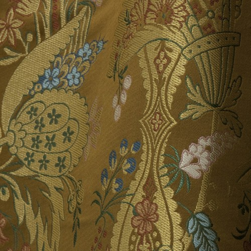Cour du Siam fabric - Tassinari & Chatel color cordoue 1700-01