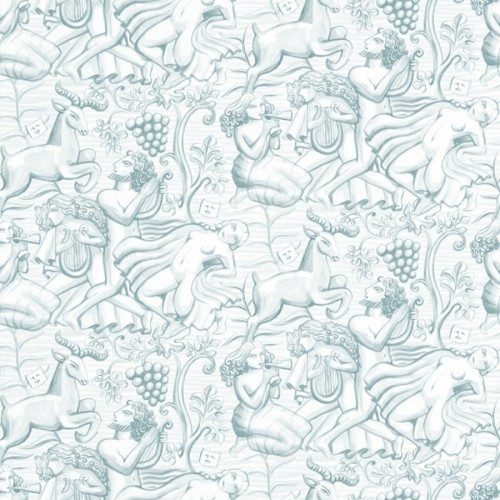 Bacchus wallpaper - Sandberg reference light turquoise 204-27
