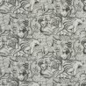 Bacchus wallpaper - Sandberg reference black 204-91