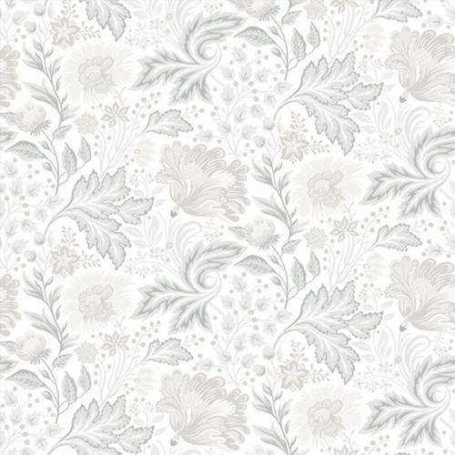 Ava Elvira wallpaper - Sandberg reference gris clair 642-04