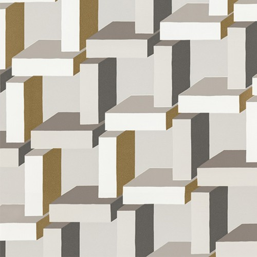 Christian wallpaper - Sandberg coloris noir et bronze 800-41