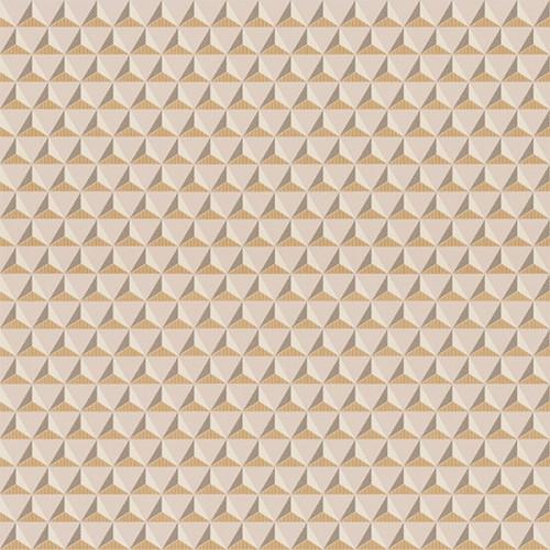 Chloé wallpaper - Sandberg reference rose pâle et doré 229-24