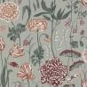 Aurélie wallpaper - Sandberg reference turquoise 434-58