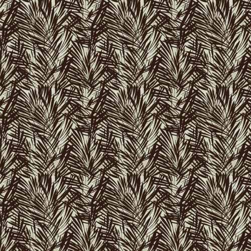 Palmeraie wallpaper - Lelièvre color bronze 6442-01