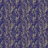 Palmeraie wallpaper - Lelièvre color cobalt 6442-03