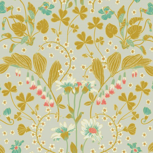Narcisse wallpaper - Nobilis color yellow COS231